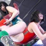 アイドル対決プロレズリング芹沢つむぎvs夏海花凛 B-1トーナメント1回戦第3試合