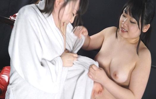 巨乳トップレス女子プロファイト Vol.3 羽月希vs夏希亜美