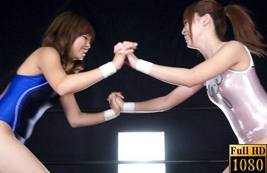 セクシータレント小川麗音vs日暮なつき プロレスアイドル列伝 2