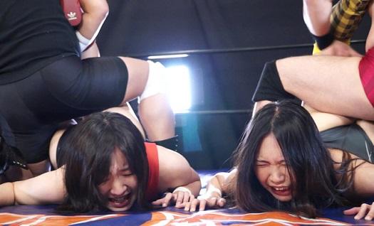 女子プロレス遺恨試合ザ・サレンダー心折れるまで 第2話 夜空まひろ vs 藤にいな
