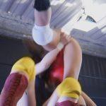 被虐系女子プロレス3 ギャルレスラー帆月なつめ屈辱敗北