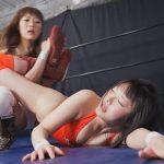 なつめ愛莉vs生駒はるな 開催記念SPECIAL女子レスリング
