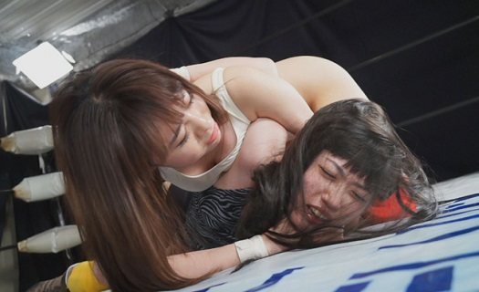 妄想女子プロレス.14 三井カンナvs平野ももか 髪切りデスマッチ復讐編
