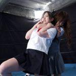 CFxFCキャットファイト綾瀬ひなのvs姫乃ひな 制服を着たまま女子校生プロレス