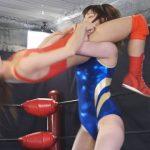 女子プロレス新世代ホープ対決 日高結愛 vs 安達メイ