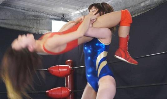 女子プロレス新世代ホープ対決
